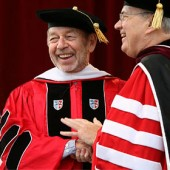 Dr Pete Hamill receives Degree