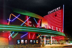 Century Aurora 16 movie theater in Aurora, Colo.