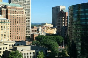 Downtown Hartford, Conn.