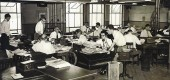 New York Journal-American newsroom, circa 1950