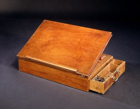 Thomas Jefferson's portable desk. Yes, the one on which he wrote the Declaration of Independence. From the Smithsonian.