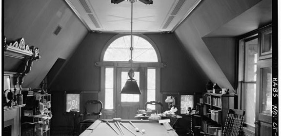 Billiard room - Mark Twain House, Hartford, Conn.