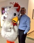Chicken and Dallas Morning News columnist James Ragland