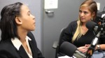 Anna Sterling (right) interviews Maya Richard-Craven on Neon Tommy Radio of the USC Annenberg School of Communication and Journalism.