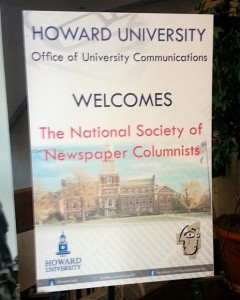 Howard University hosted the June 28, 2014, awards banquet of the 38th annual NSNC conference. Photo by Susan Young