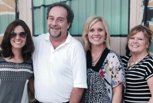 The 2015 NSNC Conference Committee: Amanda Beam (from left), Mike Leonard, Michelle Freed and Ginger Truitt.