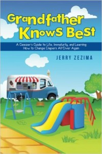 Book jacket of Jerry Zezima's 2016 book Grandfather Knows Best